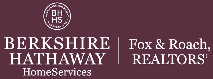 Berkshire Hathaway logo - burgundy background