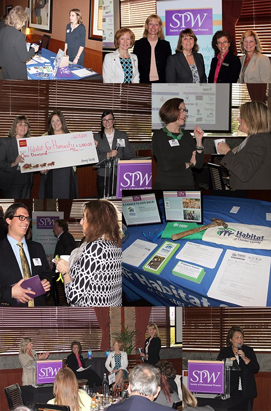 """SPW April 23, 2015 Lunch and Share """"Telling Your Business' Financial Story: How Your Beliefs About Money May Have Limited Your Success"""""""
