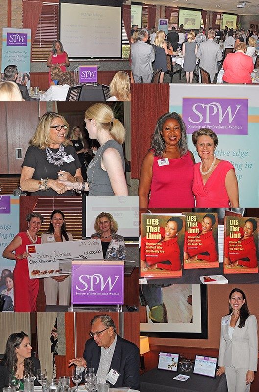 """SPW July 21, 2016 Lunch and Share """"Be A Game Changer: Make the Move That Makes A Difference"""""""