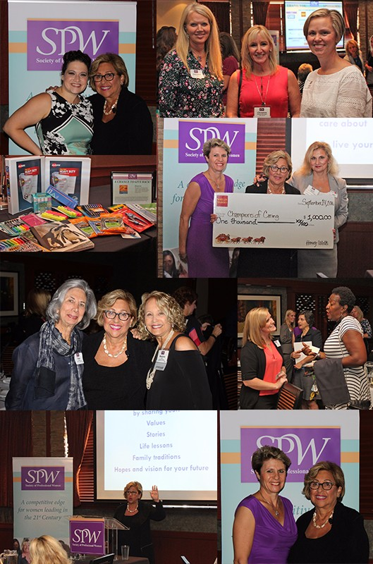 """SPW September 14, 2016 Lunch and Share """"Live Your Legacy Now! Ten Simple Steps to Find Your Passion and Change the World"""""""