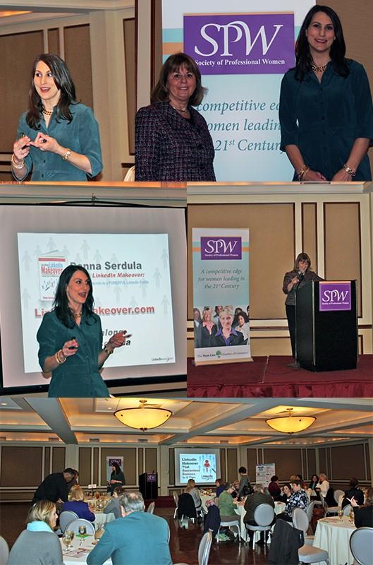 "SPW April 10, 2015 Leadership Workshop Series ""LinkedIn Makeover That Guarantees Success"""