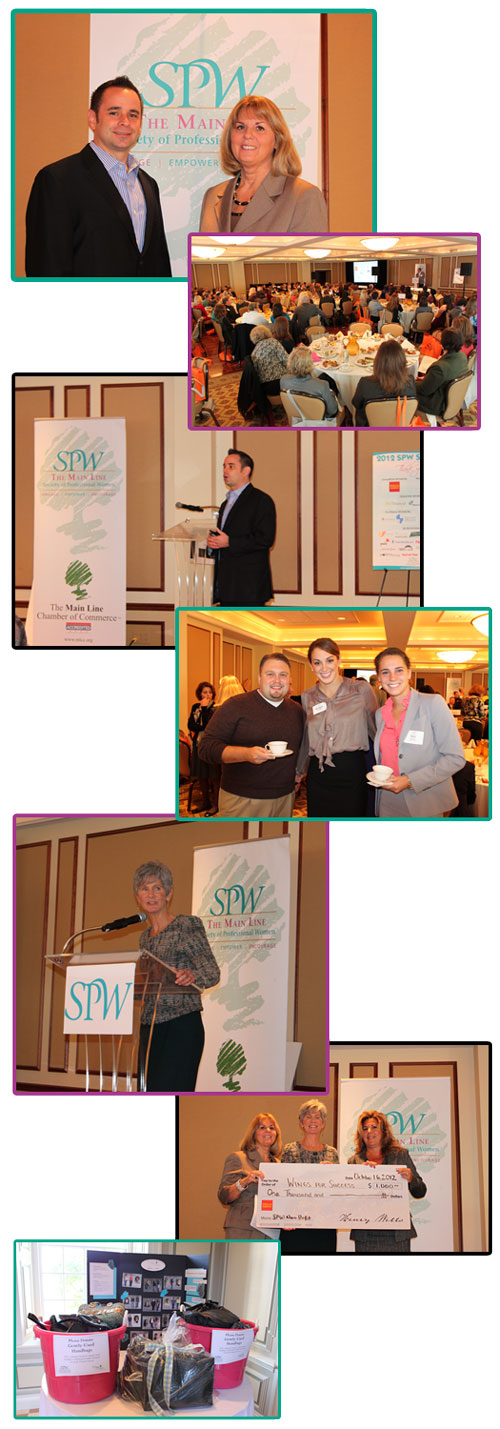 """SPW October 16, 2012 """"Local Entrepreneur Turned Millionaire: Steps to Ensure Your Success"""""""