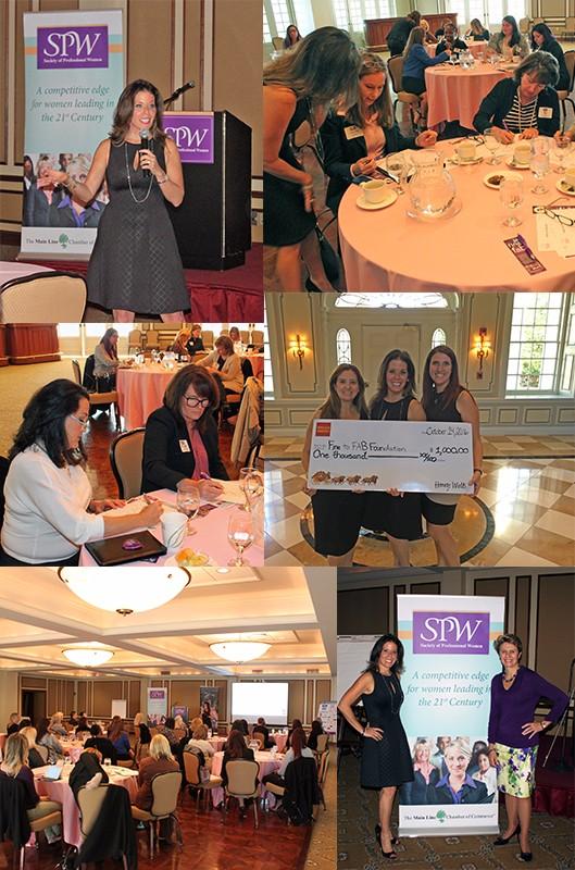 "SPW October 14, 2016 She-Suite Leadership Workshop Series ""Overcoming Self-Sabotage: 7 Secrets to Fab"""